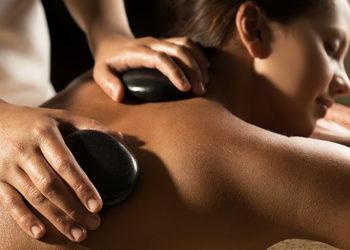 Salon Sopot   - masaż gorącymi kamieniami - częściowy