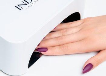 Salon Sopot   - metoda żelowa - dopełnianie paznokci z malowaniem hybrydowym
