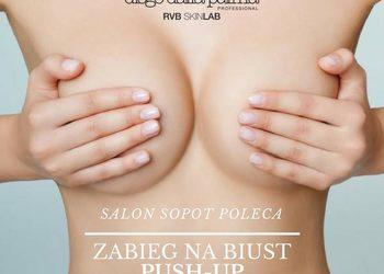 Salon Sopot   - diego dalla palma - zabieg na biust push-up- do zabiegu na twarz lub masażu