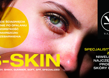 YASUMI SOSNOWIEC - s-skin - twarz, szyja dekolt