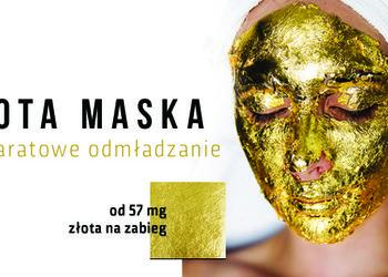 YASUMI SOSNOWIEC - złota maska - 24k gold mask treatment - twarz, szyja, dekolt