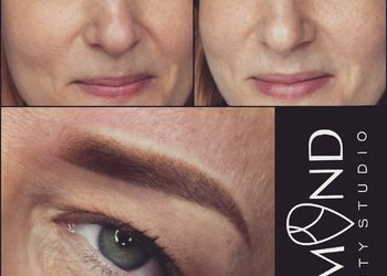 Almond beauty studio - ombre brows
