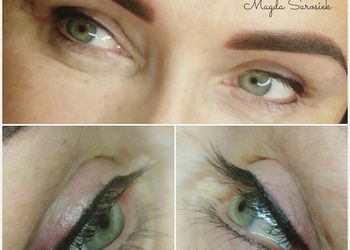 Almond beauty studio - classic eyeliner - kreska górna