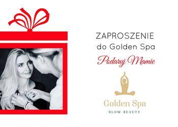 Golden Spa - zaproszenie - paryski szyk