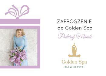 Golden Spa - zaproszenie - włoska energia!