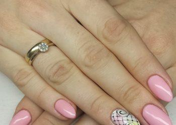 Rubis salon kosmetyki profesjonalnej - przedłużanie paznokci żelem