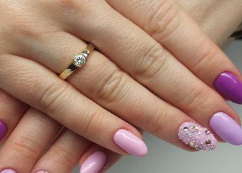 Rubis salon kosmetyki profesjonalnej - wzmacnianie naturalnych paznokci żelem