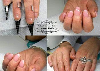Studio Paznokcia Alice - rekonstrukcja paznokci problematycznych (np. obgryzionych)