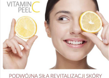Villa Dermatica - peel mission witamina c+ lacto - kwasy na całe lato