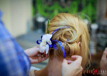 Fabryka Fryzur - fryzura ślubna - próbna