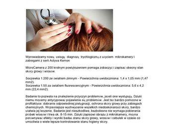 Fabryka Fryzur - kuracja dla włosów / skóry głowy z modelowaniem