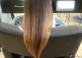 Fabryka Fryzur - ombre na długich włosach