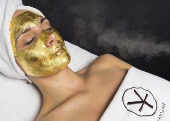 YASUMI MEDESTETIC WARSZAWA BEMOWO - złota maska - 24k gold mask treatment