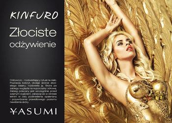 YASUMI SOSNOWIEC - gold sensation - złocisty blask - twarz