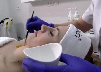 Femininity - peeling migdałowy 40 % md:peel + mikrodermabrazja -  twarz + szyja + dekolt