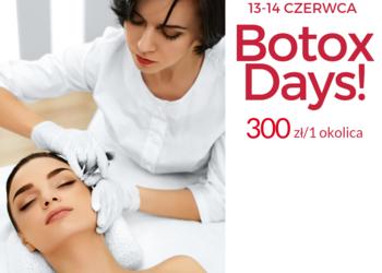 Velvet Skin Clinic - 1. botox days 13-14 czerwca 300 zł za 1 okolicę