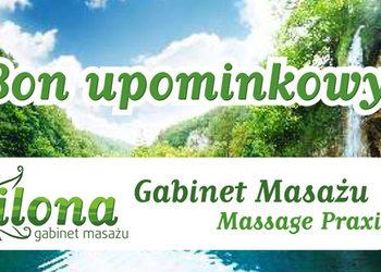 Gabinet masażu ILONA - bon upominkowy