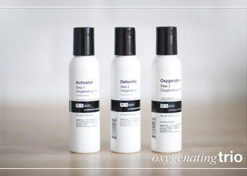 Femininity - zabieg oxygenating trio pca skin + sensi peel / detox/ hydr - przeciwstarzeniowy / detoksykujący / dotleniający / regenerujący