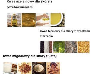 Sekret Urody Anna Ochot de Moura - kwasy migdałowy,glikolowy,azelainowy,ferulowy  +maseczka