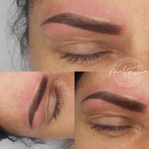 BEAUTY CLINIC Malwina Hernik - Makijaż permanentny brwi Powder / Ombre Brows