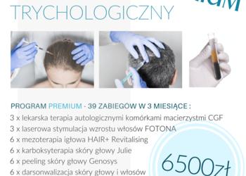 Velvet Skin Clinic - program trychologiczny premium w 3 miesiące