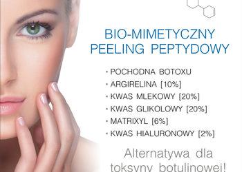Studio Kosmetologii Looksus - peptydowy peeling biomimetyczny