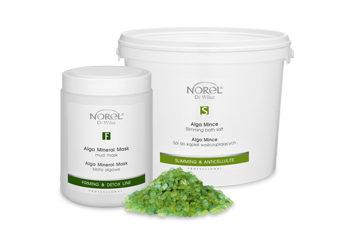 KLUB PIĘKNA Gabinet Kosmetyczny  - peeling solny z alga mince