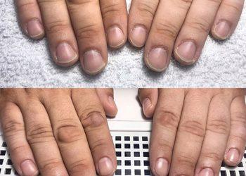Turkusowe Cążki - manicure męski