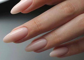 Turkusowe Cążki - przedłużenie paznokci żelem (bez malowania)