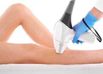 Gabinet Ingenium - depilacja laserowa - uda(+kolana gratis) / pakiet x 5 (płacisz za cztery, piąty zabieg gratis)