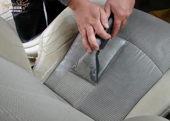 Super Shine Auto Detailing - czyszczenie tapicerki materiałowej