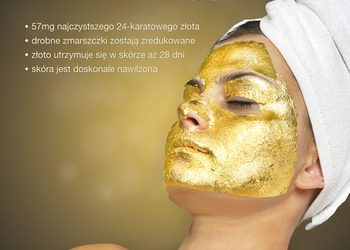 Yasumi Pruszków  - złota maska - 24k gold mask treatment
