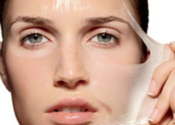 Peel facial at home