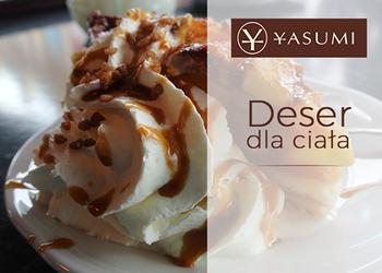 Instytut Zdrowia i Urody YASUMI - czekoladowy deser z jabłkiem