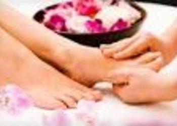 Zabieg pielgnmacyjny na stopy