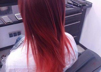 Salon fryzjerski Agnes - farbowanie włosy długie