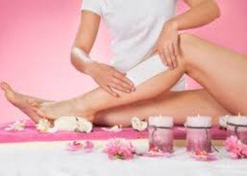 Pazurkowo - depilacja woskiem całe nogi