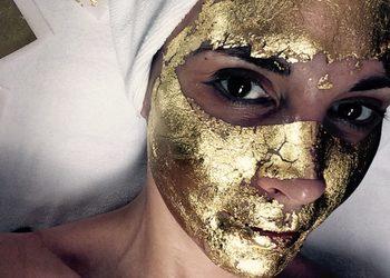 YASUMI MEDESTETIC, INSTYTUT ZDROWIA I URODY – WARSZAWA POWIŚLE  - złota maska - 24k gold mask treatment (dodatkowy płatek) dopłata