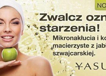 YASUMI Warszawa Gocław - Instytut Zdrowia i Urody  - jabłkowa odnowa mikroigłowa - titanium derma roller