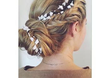 Stillo Belleza - fryzura okolicznościowa (upięcie, kok)