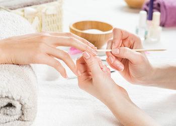 Salon mediSpa - manicure japoński (z usunięciem skórek)
