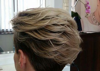 Salon Fryzjerski Perfect Anna Skrzypiec - fryzura okolicznościowa krótkie wł