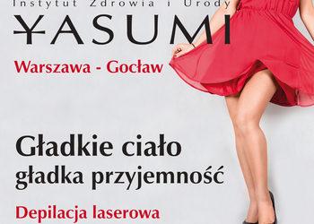 YASUMI Warszawa Gocław - Instytut Zdrowia i Urody  - depilacja ipl. trwała fotodepilacja laserem