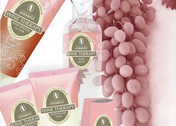 KLUB PIĘKNA Gabinet Kosmetyczny  - winoterapia - zabieg z winem, szampanem i winogronami