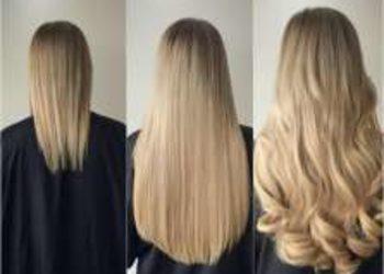 Salon fryzjerski kosmetyczny She & He - przedłużanie włosów metodą racoon