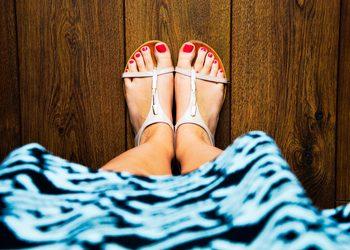 Royal Vital Sienna 93 - pedicure kwasowy na stopy