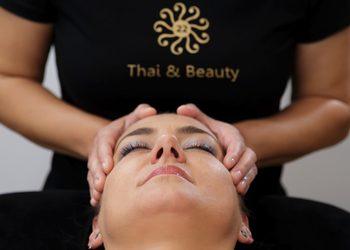 22 Thai&Beauty - 08. tajski masaż twarzy, dekoltu i głowy 30 min/ thai massage of the face, decollete and head