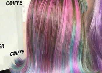 Salony fryzjerskie O'la - koloryzacja inblonde włosy średnie