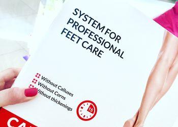 KLEOPATRA gabinet kosmetyczny - callux - innowacyjny system pielęgnacji stóp