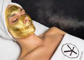 Yasumi Toruń Pdgórz - złota maska - 24k gold mask treatment - twarz zabieg rozszerzony
